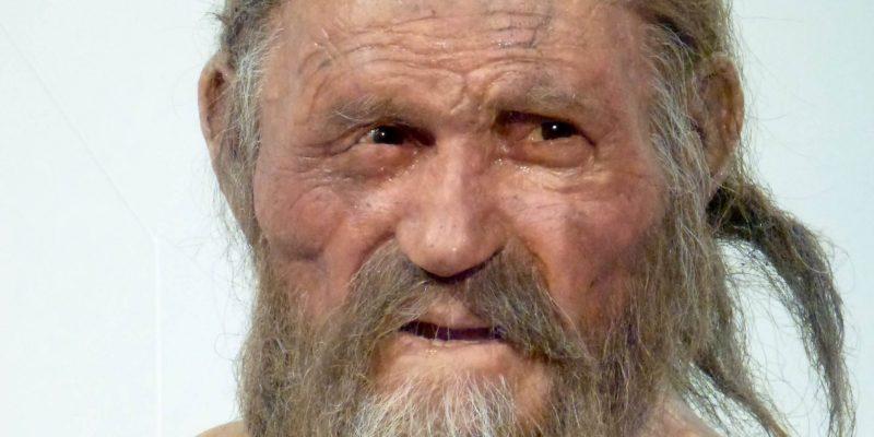 Plastische Rekonstruktion des Ötzi