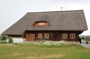 Reetgedecktes Tagwerkerhaus von 1801