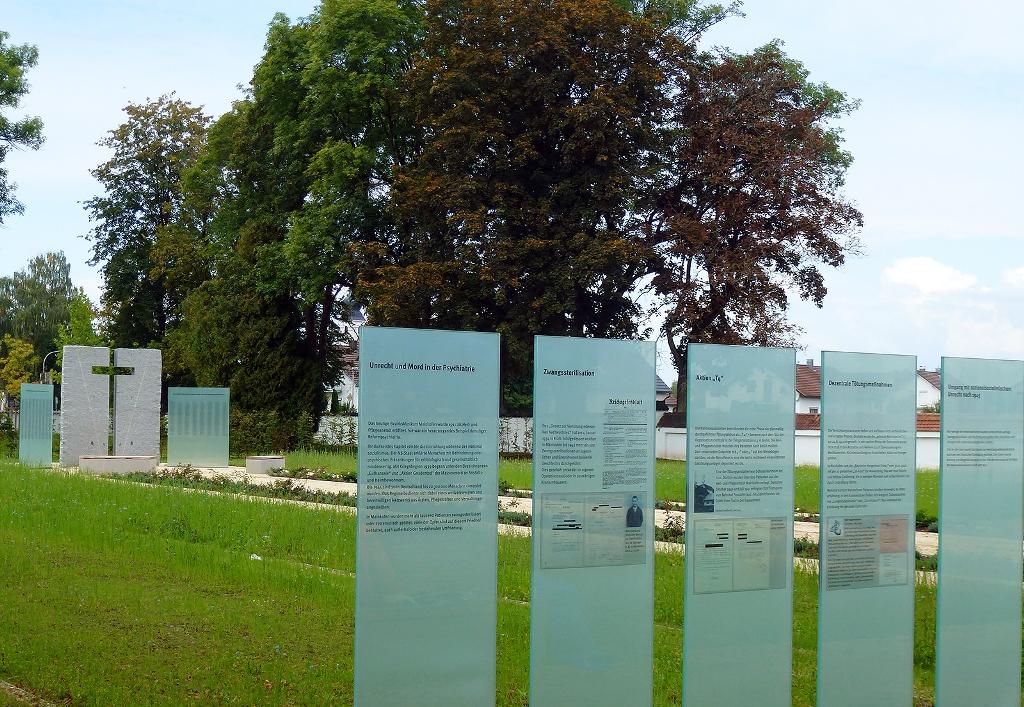 Gedenkstätte im Bezirksklinikum Mainkofen