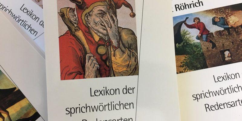 Bücher zum Thema Redewendungen